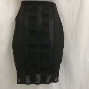 Black bandage skirt by WOW Couture Size M